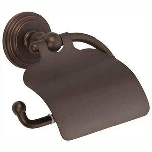 Oil Rubbed Bronze - Hand Relieved Hooded Toilet Tissue Holder Product Image