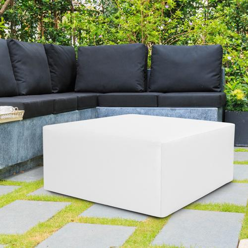 """Universal 36"""" Square Cover Atlantis White (Cover Only)"""