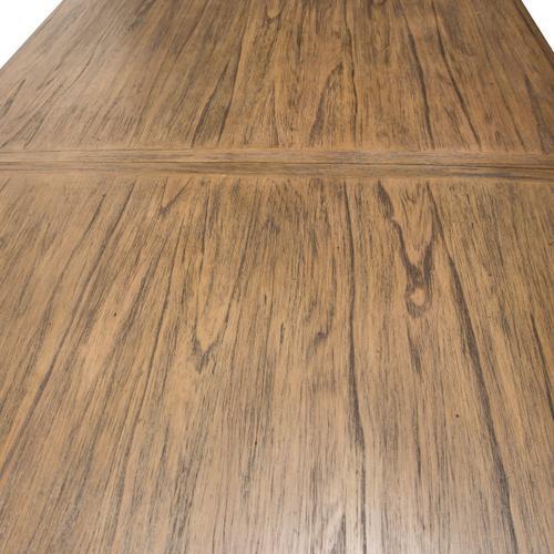 4 Leg Rectangular Dining Table - W/leaf