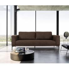 View Product - Divani Casa Jada - Modern Brown Fabric Sofa