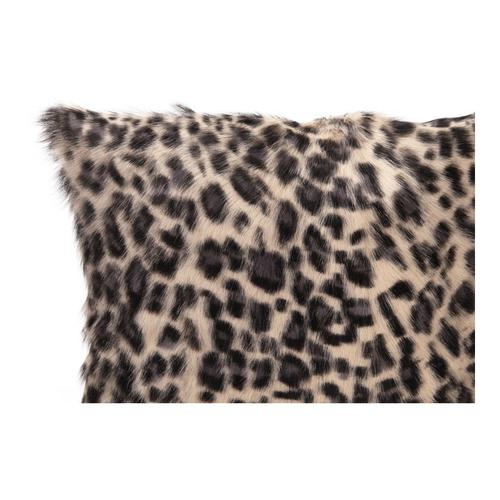 Moe's Home Collection - Spotted Goat Fur Pillow Blue Leopard