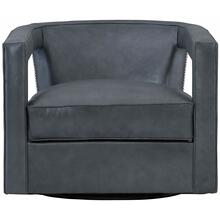 Alana Leather Swivel Chair