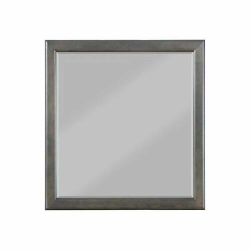 ACME Louis Philippe Mirror - 26794 - Dark Gray