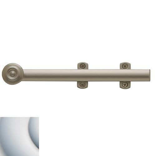 Baldwin - Satin Chrome Decorative Heavy Duty Surface Bolt