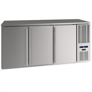 "U-Line72"" Back Bar Refrigeration With Stainless Solid Finish (115 V/60 Hz Volts /60 Hz Hz)"
