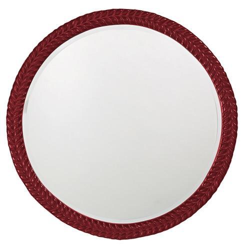 Howard Elliott - Amelia Mirror - Glossy Burgundy