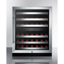 "24"" Wide Built-in Wine Cellar, ADA Compliant"