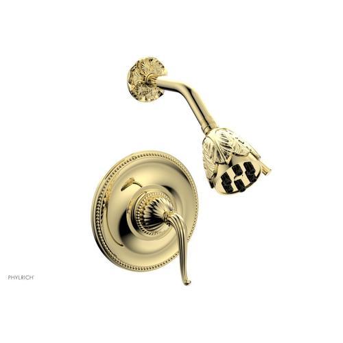 GEORGIAN & BARCELONA Pressure Balance Shower Set - Lever Handle PB3141 - Polished Brass