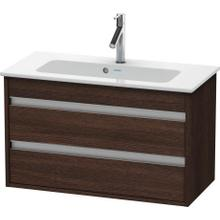 Vanity Unit Wall-mounted Compact, Chestnut Dark (decor)