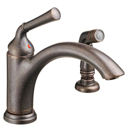 Portsmouth 1-Handle 1.5 GPM Kitchen Faucet with Side Spray  American Standard - Oil Rubbed Bronze