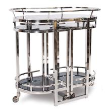 View Product - Nesting Stainless Steel Bar Cart