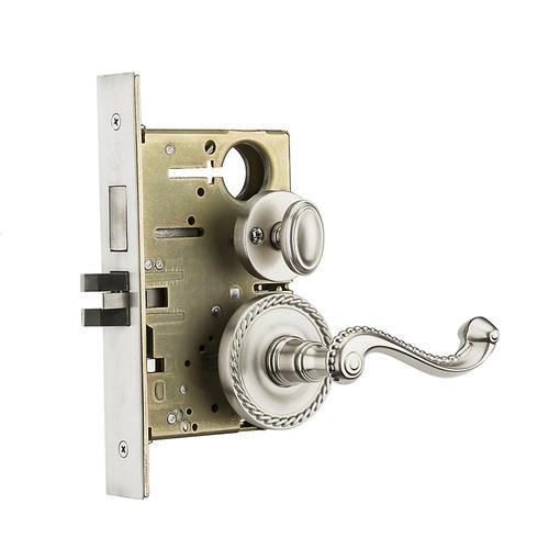Baldwin - Satin Nickel Bristol Sectional Privacy Set