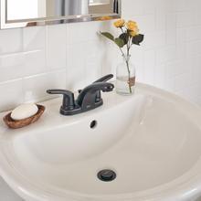 Colony Pro Two-Handle Centerset Bathroom Faucet - Legacy Bronze