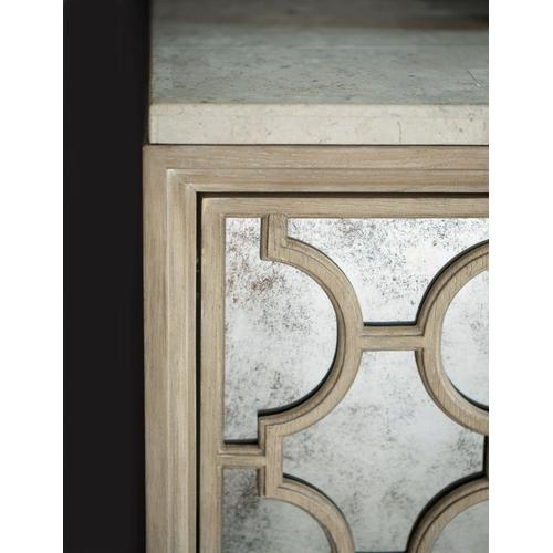 Santa Barbara Buffet with Stone Top in Sandstone (385), Travertine Stone (385)