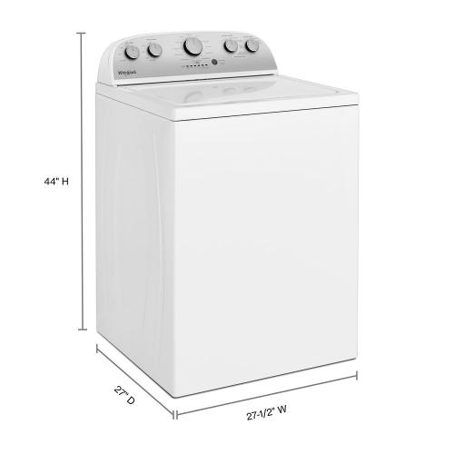 Gallery - 3.9 cu. ft. Top Load Washer with Soaking Cycles, 12 Cycles
