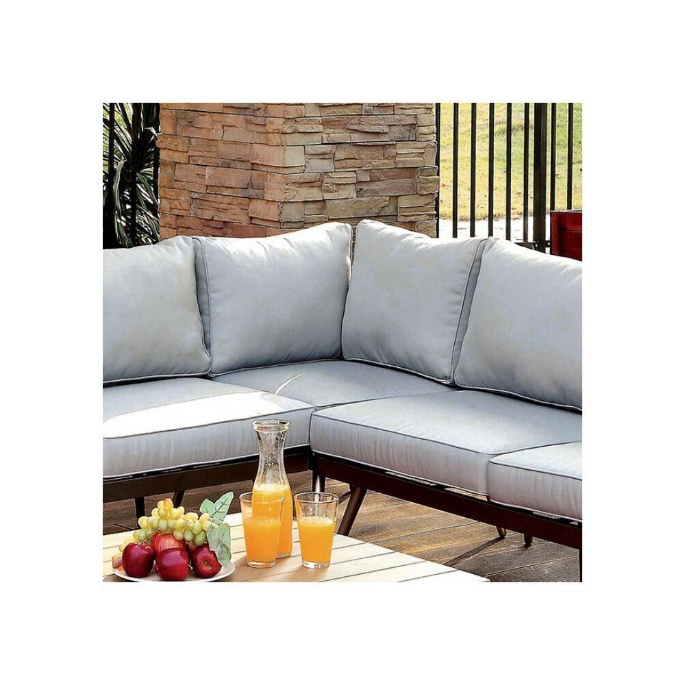 See Details - Evita Corner Chair