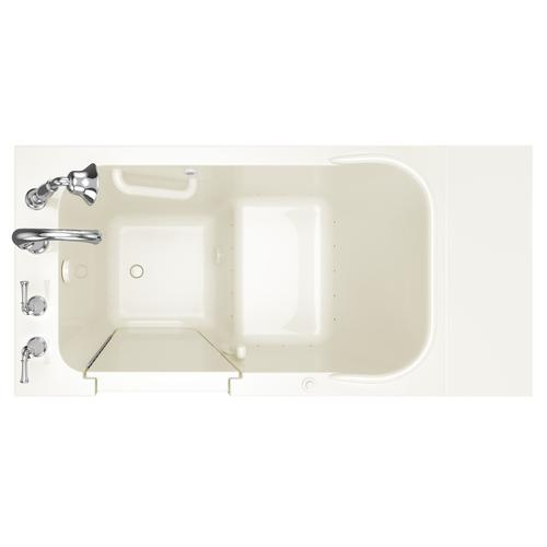 Gelcoat Value Series 28x48-inch Walk-in Air Massage Tub  American Standard - Linen