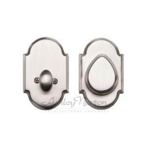 DB4165 Arched Deadbolt Shown in Satin Nickel (.4) finish Product Image