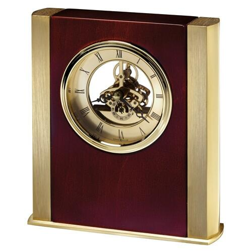 Howard Miller - Howard Miller Essex Brass Table Clock 645795