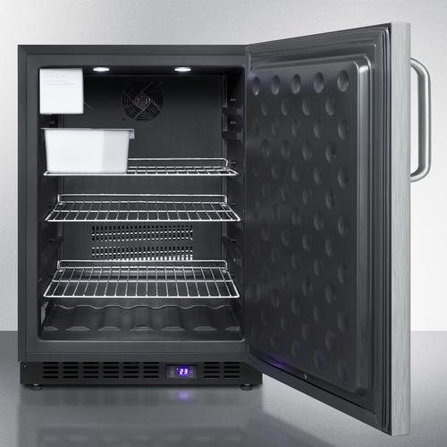"24"" Wide Outdoor All-freezer With Icemaker"