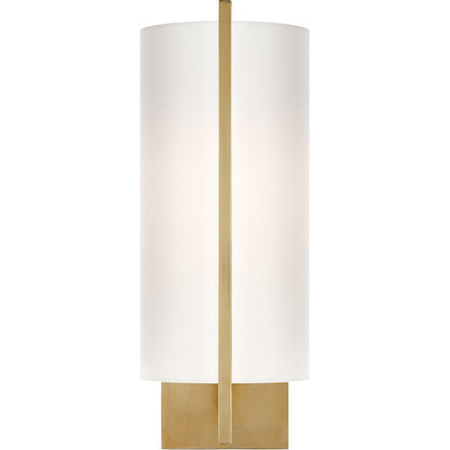 Visual Comfort - Barbara Barry Framework 1 Light 5 inch Soft Brass Decorative Wall Light