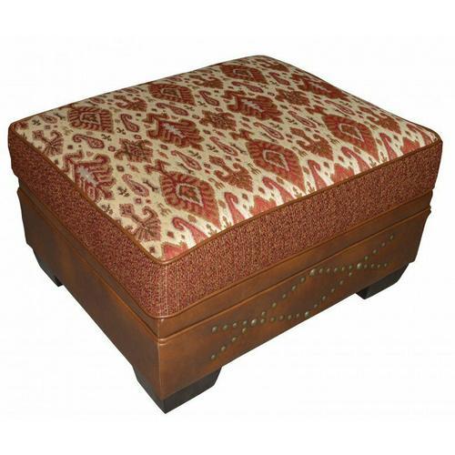 McKinley (Leather) Storage Ottoman