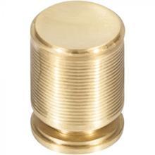 View Product - Vibe Knob 3/4 Inch Satin Brass Satin Brass