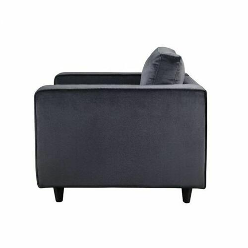 ACME Heather Chair - 51072 - Gray Velvet