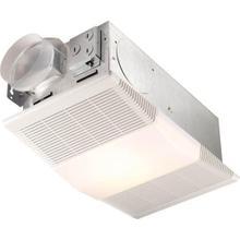 Heater/Fan/Light, 1300W Heater, with 100W Incandescent Light, 70 CFM; Ventilation Fans