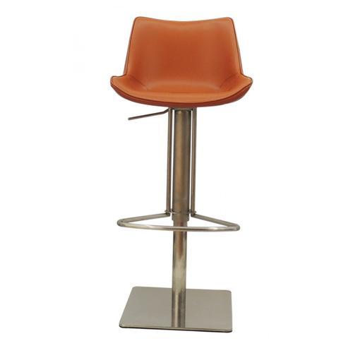 VIG Furniture - Modrest Hopkin - Modern Cognac Eco-Leather Bar Stool