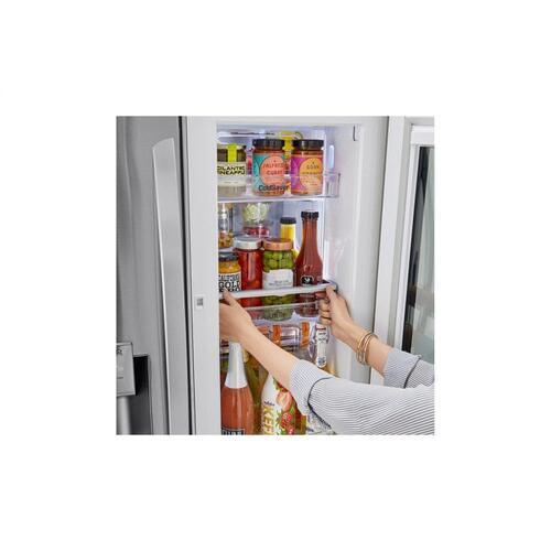 24 cu. ft. Smart wi-fi Enabled InstaView™ Door-in-Door® Counter-Depth Refrigerator with Craft Ice™ Maker