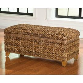 See Details - Laughton Natural Woven Banana Leaf Trunk