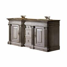 Classical Two Sink Vanity - 72""