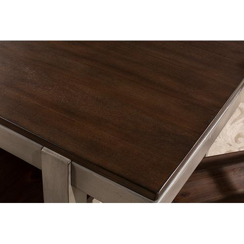Product Image - Garden Park Dining Table - Gray With Dark Espresso (wirebrush)