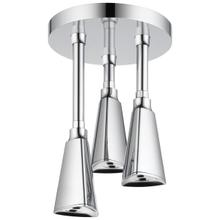 Chrome H 2 Okinetic ® Pendant Raincan Shower Head