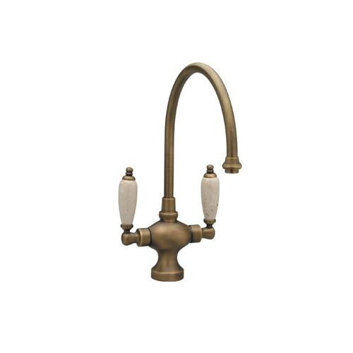 Kitchen & Bar Single Hole Bar Faucet K8158DH - Satin Brass