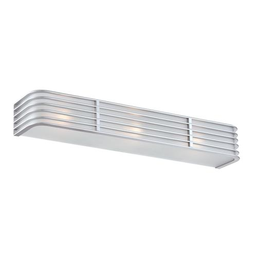 Lite Source - Sconce, Silver, Metal Shade, E27 Type B 40wx3