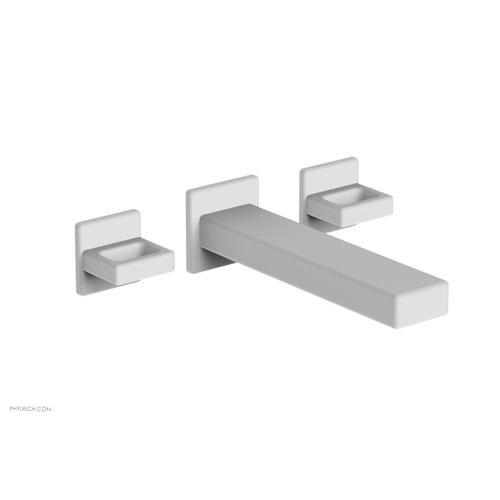 MIX Wall Lavatory Set - Ring Handles 290-13 - Satin White
