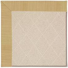 Creative Concepts-White Wicker Dupione Bamboo Machine Tufted Rugs