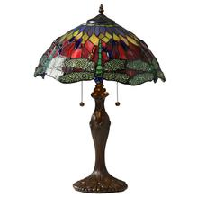 View Product - Tiffany Style Dragonfly Table Lamp
