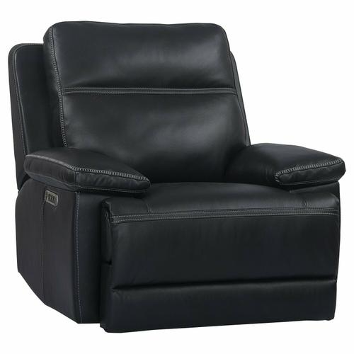 Parker House - PAXTON - NAVY Power Recliner