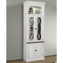 PROVENCE 32 in. Glass Door Cabinet