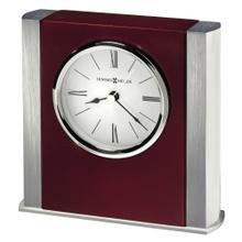 Howard Miller Manheim Silver Table Clock 645798
