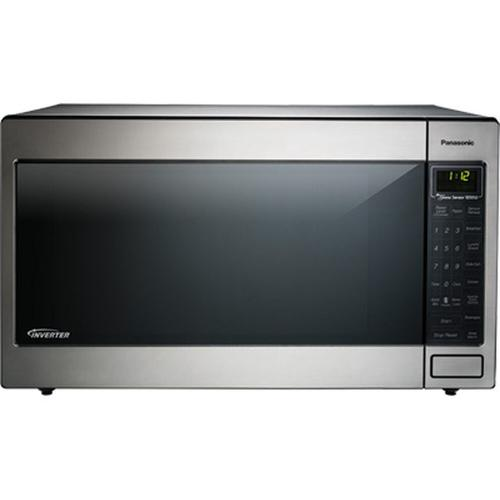 Luxury Full-Size 2.2 Cu. Ft. Genius Countertop/Built-In Microwave Oven with Inverter Technology, Stainless NN-T945SF/NN-T945SFX