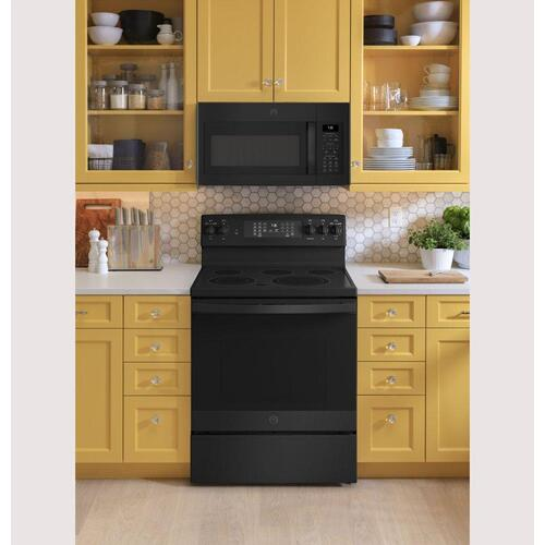 """GE Appliances - GE® 30"""" Free-Standing Electric Convection Range with No Preheat Air Fry"""