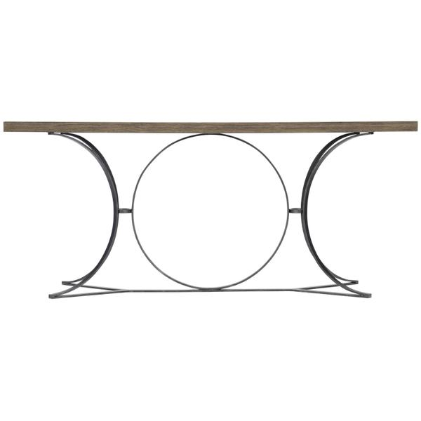 Canyon Ridge Metal Console Table in Desert Taupe (397)