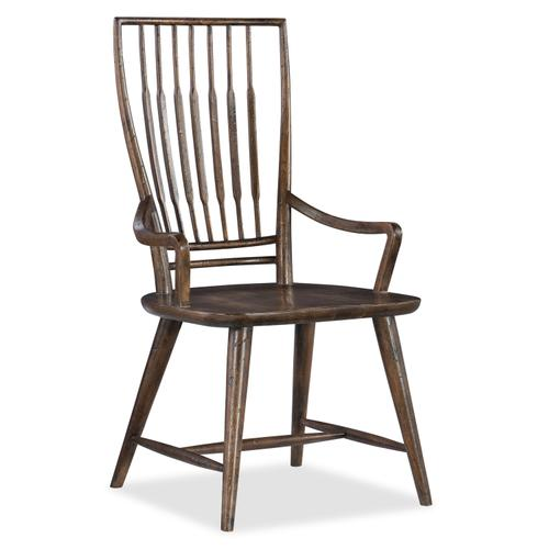 Hooker Furniture - Roslyn County Spindle Back Arm Chair - 2 per carton/price ea
