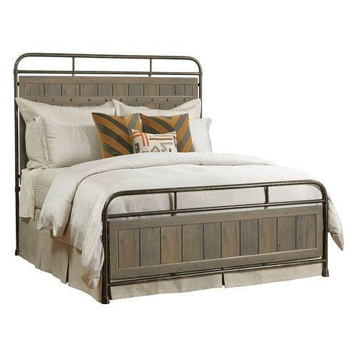 Mill House Folsom Queen Metal Bed - Complete