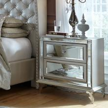 See Details - Upholstered Accent Cabinet-night Stand-end Table