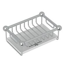 See Details - Free Standing Soap Basket - Polished Chrome